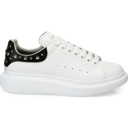 Alexander McQueen Men's Men's Oversized Studded Leather Platform Sneakers - White Black - Size 15 found on Bargain Bro Philippines from Saks Fifth Avenue for $590.00
