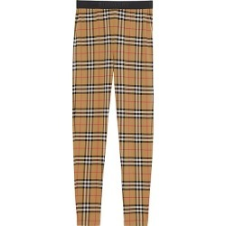 Burberry Women's Belvoir Check Print Leggings - Antique Yellow - Size XS found on MODAPINS from Saks Fifth Avenue for USD $450.00