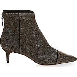 Alexandre Birman Women's Kittie Cap Toe Booties - Stellar Black - Size 10 found on MODAPINS from Saks Fifth Avenue for USD $750.00