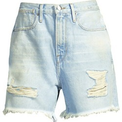 Denim Bermuda Shorts found on MODAPINS from Saks Fifth Avenue for USD $62.70