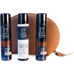 Luxury Leather Deluxe Four-Piece Skin Care Set