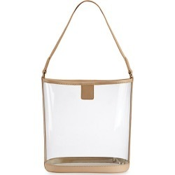Gigi New York Women's Game Day Collins Tuohy Smith x Gigi Virginia Leather-Trimmed PVC Hobo Bag - Natural found on Bargain Bro Philippines from Saks Fifth Avenue for $195.00