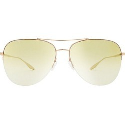 Barton Perreira Women's Chevalier 62MM Aviator Sunglasses found on MODAPINS from Saks Fifth Avenue for USD $445.00
