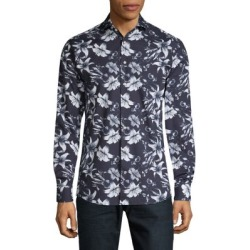 Slim-Fit Floral-Print Shirt found on GamingScroll.com from The Bay for $81.00