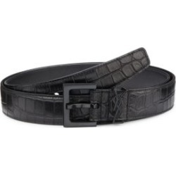 Monogram Croc-Embossed Leather Belt found on Bargain Bro Philippines from Saks Fifth Avenue AU for $609.97