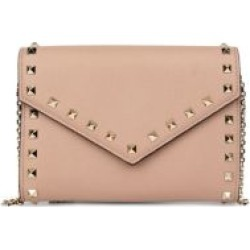 Valentino Garavani Rockstud Leather Wallet-On-Chain found on Bargain Bro from Saks Fifth Avenue UK for £1091