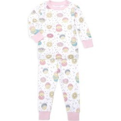 Baby's & Little Girl's Donut 2-Piece Pajama Set found on Bargain Bro UK from Saks Fifth Avenue UK