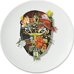 Christian Lacroix by Vista Alegre Mister Tiger Porcelain Dessert Plate found on Bargain Bro India from Saks Fifth Avenue for $45.00