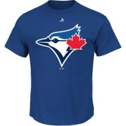 T-shirt en coton avec logo officiel des Blue Jays de Toronto