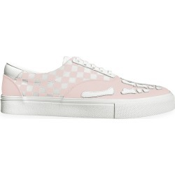 Amiri Men's Checkered Low-Top Sneakers - Pink White - Size 46 (13) found on MODAPINS from Saks Fifth Avenue for USD $595.00