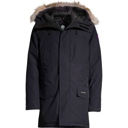 Canada Goose Men's Langford Coyote Fur-Trim Down Parka - Navy - Size XS found on MODAPINS from Saks Fifth Avenue for USD $1150.00