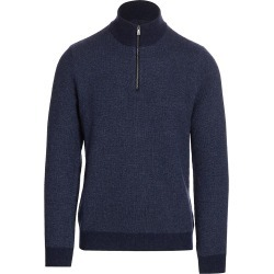Ralph Lauren Purple Label Women's Cashmere Quarter-Zip Sweater - Classic Chairman Navy - Size XXL found on Bargain Bro India from Saks Fifth Avenue for $1295.00