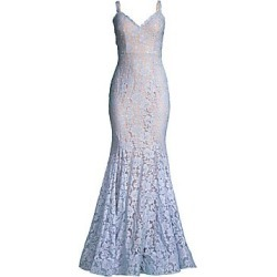 Jovani Women's Lace Mermaid Gown - Perriwinkle - Size 8 found on Bargain Bro India from Saks Fifth Avenue for $480.00