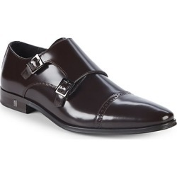 Patent Leather Monk Strap Shoes