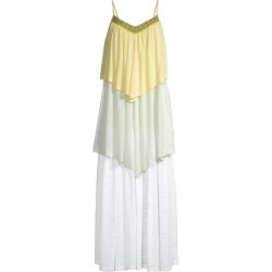 Pitusa Women's Three-Tiered Colorblocked Dress - Size XS found on MODAPINS from Saks Fifth Avenue for USD $195.00