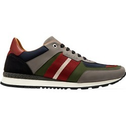 Bally Men's Ascona Suede & Mesh Colorblock Runners - Cloud - Size 9 found on MODAPINS from Saks Fifth Avenue for USD $287.50