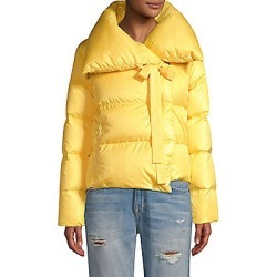 Bacon Women's Puffa Cropped Jacket - Yellow - Size XS found on MODAPINS from Saks Fifth Avenue for USD $205.10