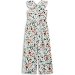 Girls Floral-Print Jumpsuit found on Bargain Bro India from The Bay for $45.50