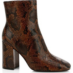 Ash Women's Jade Python-Embossed Leather Ankle Boots - Cognac - Size 40 (10) found on MODAPINS from Saks Fifth Avenue for USD $117.25