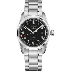 Longines Longines Spirit Stainless Steel Bracelet Watch - Black found on MODAPINS from Saks Fifth Avenue for USD $2150.00