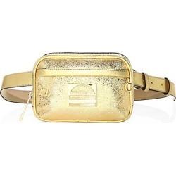 Marc Jacobs Women's Sport Metallic Leather Belt Bag - Gold