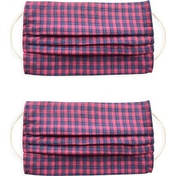 2-Pack Checkered Face Mask Set found on Bargain Bro UK from Saks Fifth Avenue UK
