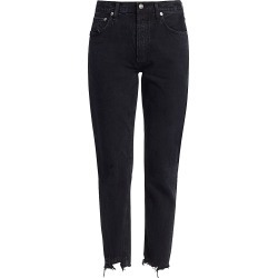 Agolde Women's Jamie High-Rise Classic-Fit Ankle Jeans - Compass - Size 30 found on MODAPINS from Saks Fifth Avenue for USD $168.00