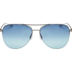 Barton Perreira Men's 10-Year Anniversary Chevalier 62MM Gradient Aviator Sunglasses - Sea Splash found on MODAPINS from Saks Fifth Avenue for USD $445.00