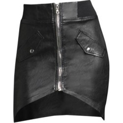Isla Leather Zip Mini Skirt found on Bargain Bro India from Saks Fifth Avenue AU for $312.20