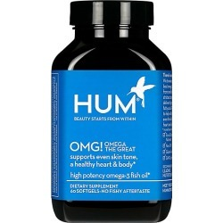 Hum Nutrition Women's OMG! Omega The Great Hydrating Vitamin E Supplement