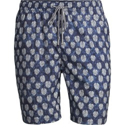 Peter Millar Men's Batik Swim Shorts - Navy - Size XXL found on Bargain Bro from Saks Fifth Avenue for USD $74.48