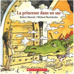 The Paper Bag Princess Book - French Version