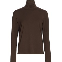Majestic Filatures Men's Soft Touch Turtleneck Sweater - Coffee - Size Large found on MODAPINS from Saks Fifth Avenue for USD $99.00