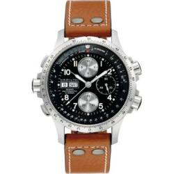 Montre automatique avec chronographe Khaki X-Wind pour hommes (H77616533)