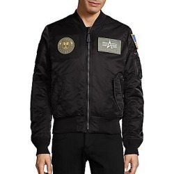 Alpha Industries Women's Slim-Fit Bomber Jacket - Black - Size XL found on MODAPINS from Saks Fifth Avenue for USD $165.00