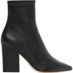 Loeffler Randall Women's Isla Leather Ankle Boots - Black - Size 9 found on MODAPINS from Saks Fifth Avenue for USD $450.00