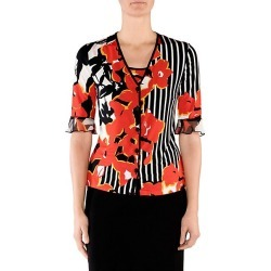 Floral Stripe Cardigan found on MODAPINS from Saks Fifth Avenue for USD $680.00