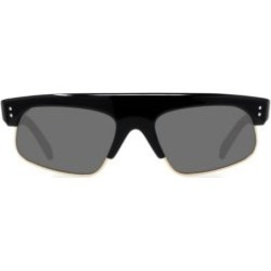 60MM Smoke Rectangle Lens Sunglasses found on Bargain Bro UK from Saks Fifth Avenue UK