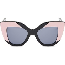 Illesteva Women's Juliette 42MM Cat Eye Sunglasses - Black found on MODAPINS from Saks Fifth Avenue for USD $240.00