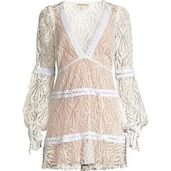 8ee29d1dc7aa For Love & Lemons Women's Bright Lights Lace Mini Dress - White - Size  Large found. Close Find Shop Now. USD $282.00 from Saks Fifth Avenue