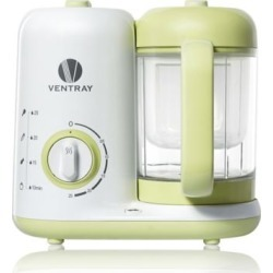 Babygrow 300 Baby Food Maker, all-in-one Baby Food Processor, green