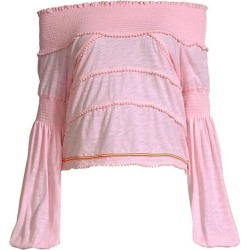 Agata Smocked Crop Top found on Bargain Bro Philippines from Saks Fifth Avenue Canada for $44.32