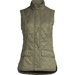 Barbour Women's Core Essentials Otterburn Quilted Vest - Olive - Size 8 found on MODAPINS from Saks Fifth Avenue for USD $130.00