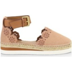 Floral Laser Cut Ankle-Strap Espadrilles found on Bargain Bro India from Saks Fifth Avenue Canada for $251.07
