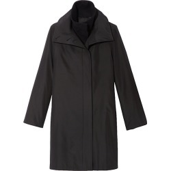 Akris Women's Double-Layer Coat - Black - Size 6 found on MODAPINS from Saks Fifth Avenue for USD $3990.00