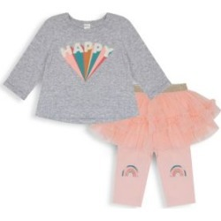Baby Girl's 2-Piece Tutu Set found on Bargain Bro from The Bay for USD $10.64