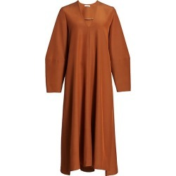 Co Women's V-Neck Long Sleeve Maxi Dress - Copper - Size Medium found on MODAPINS from Saks Fifth Avenue for USD $1395.00