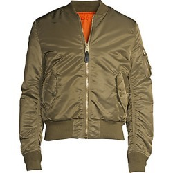 Alpha Industries Women's Nylon Flight Jacket - Vintage Olive - Size XS found on MODAPINS from Saks Fifth Avenue for USD $150.00