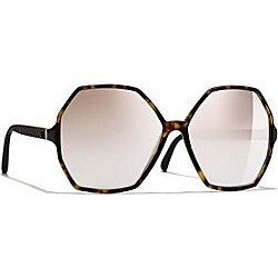 Chanel Round Sunglasses - Dark Torto found on Bargain Bro Philippines from Saks Fifth Avenue for $475.00