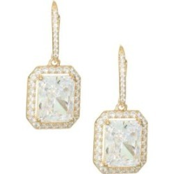 18K Goldplated Sterling Silver Framed Rectangle Leverback Earrings found on Bargain Bro India from Saks Fifth Avenue AU for $132.43